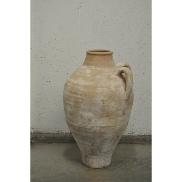 Antique Greek Pottery Terracotta Wine Stamna - Image 3 of 4