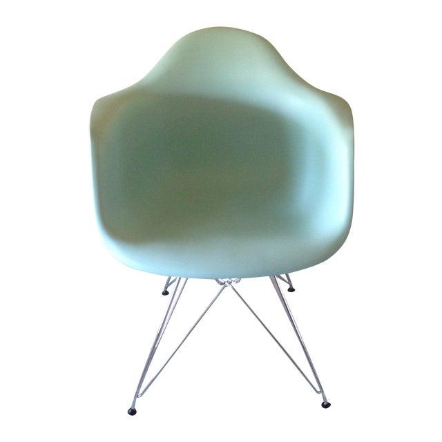 Eames Aqua Eiffel Chair For Herman Miller Chairish