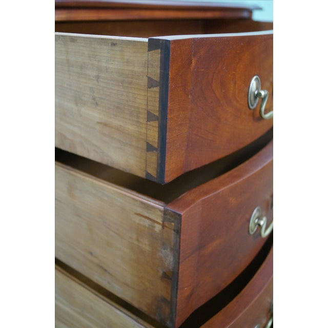 Image of Nathan Margolis Chippendale Serpentine Chest