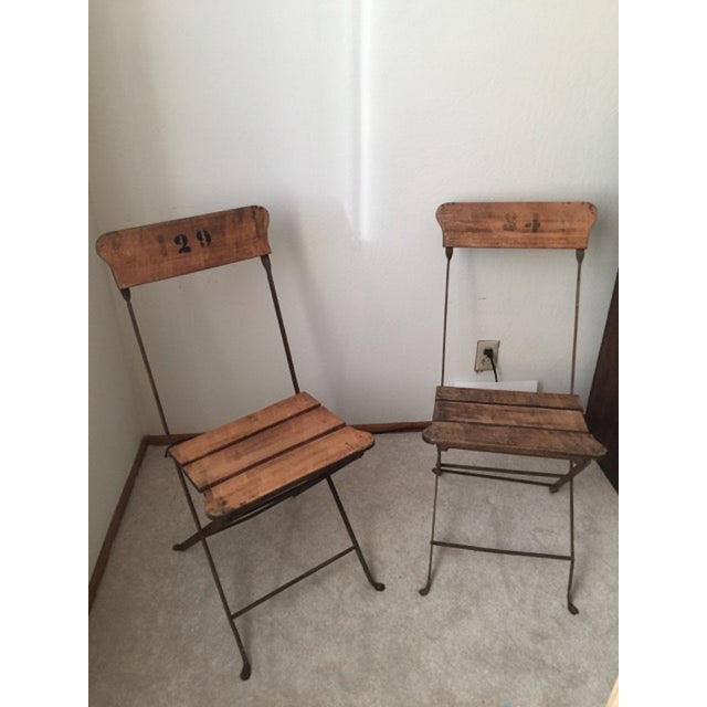 French Campaign/Garden Chairs C.1890's - Pair - Image 6 of 6