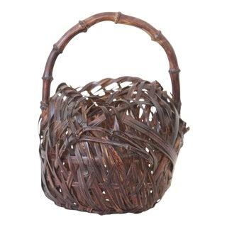 Japanese Woven Basket