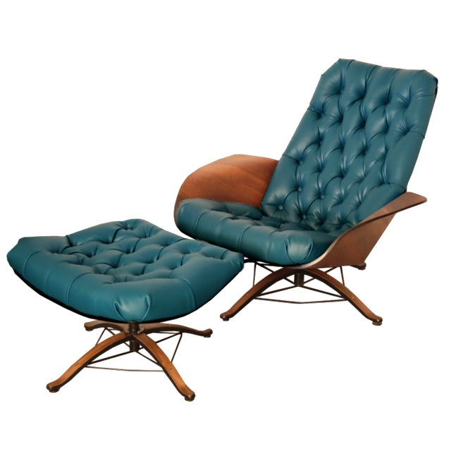 """George Mulhauser """"Mr. Chair"""" Plycraft Lounge Chair - Image 1 of 4"""
