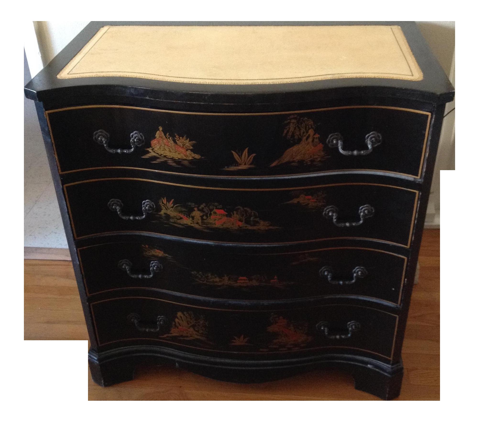 Vintage Used Chinoiserie Decor Furniture Lighting