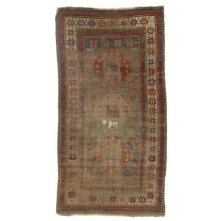 RugsinDallas Hand-Knotted Wool Russian Rug - 3′5″ × 5′5″