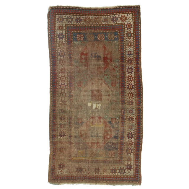 RugsinDallas Hand-Knotted Wool Russian Rug - 3′5″ × 5′5″ - Image 1 of 2