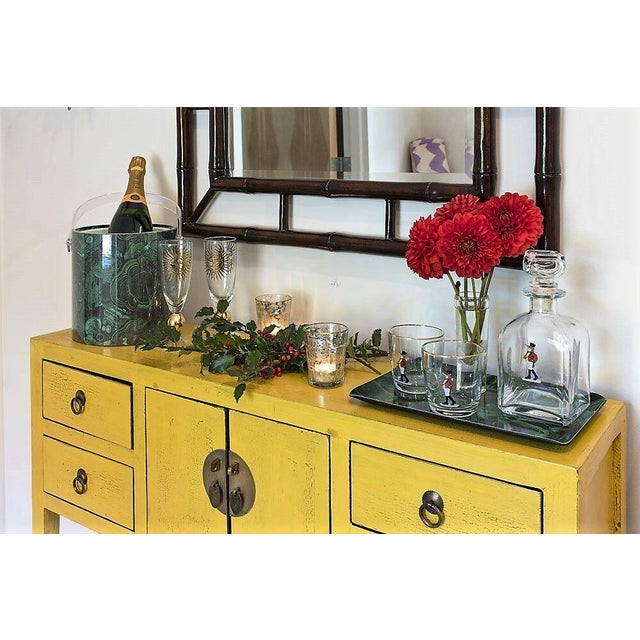 Image of Narrow Vintage Chinoiserie Console
