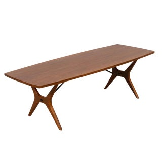 Mid-Century Swedish Modern Coffee Table in Teak