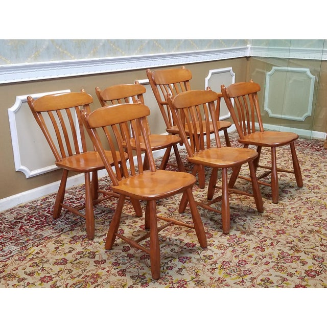 1950s Vintage Winchendon Furniture Solid Rock Maple Old