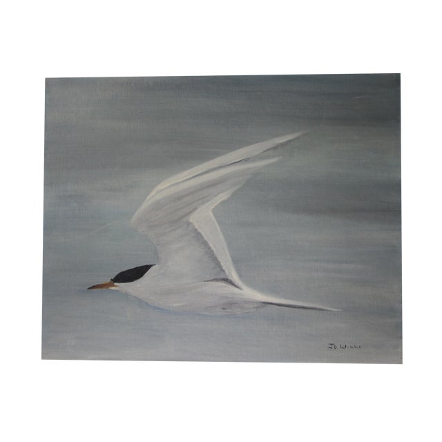 Image of Acrylic Painting of Seagull