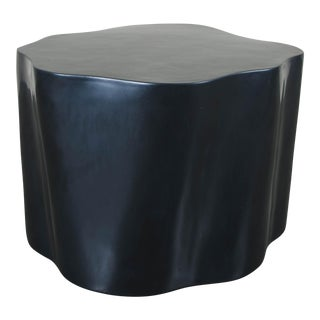 Root Stool - Black Lacquer