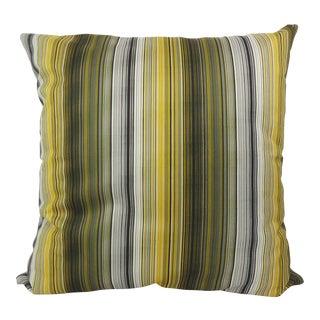 Pin-Striped Velvet Custom Pillow