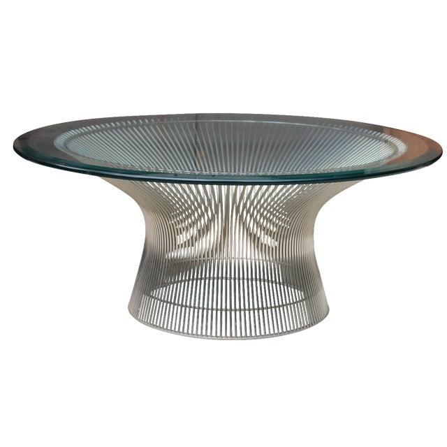 Warren Platner For Knoll Nickel Coffee Table Chairish