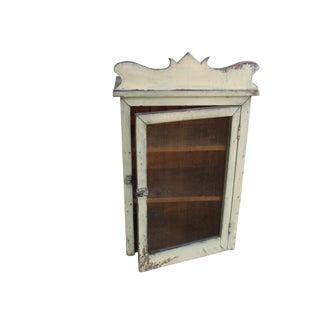 Rustic Farmhouse Wall Storage Cabinet
