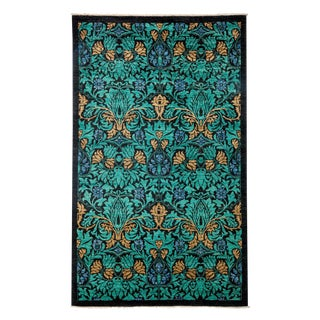 """Arts & Crafts, Hand Knotted Area Rug - 4'10"""" X 8'"""