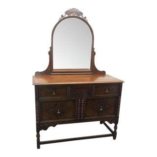Berkey and Gay Dresser With Mirror