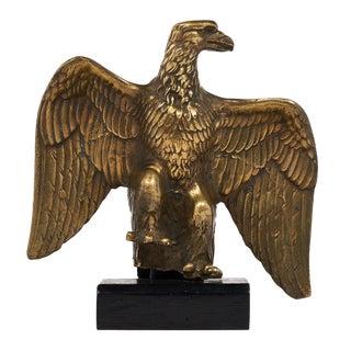French Antique Bronze Eagle Statuette
