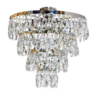 Plafond Chandelier with Ayla Crystals