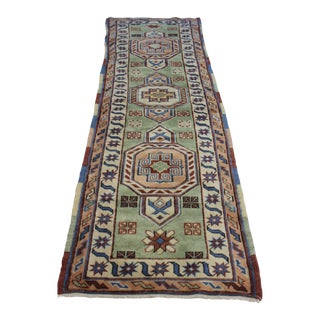Traditional Turki̇sh Rug Runner - 2.3 x 8.3
