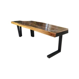 Live Edge Modern Coffee Table