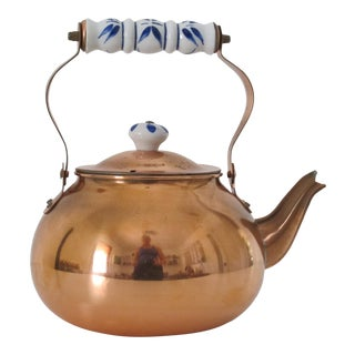 Traditional Copper Teapot