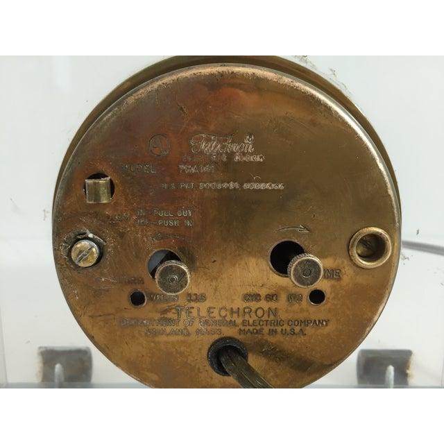 Image of Mid-Century Telechron Lucite Clock
