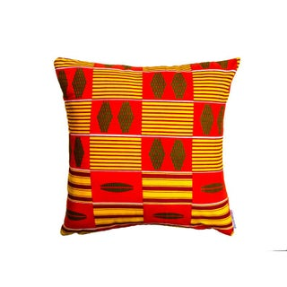 Irie Kente Print Pillow Cases - A Pair