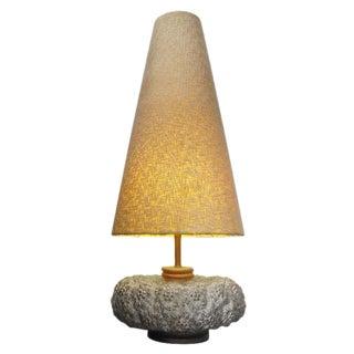 Mid-Century Resin Table Lamp