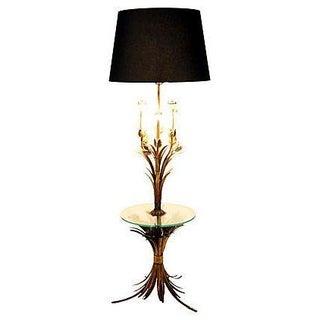 Sheaf of Wheat Gilt Floor Lamp