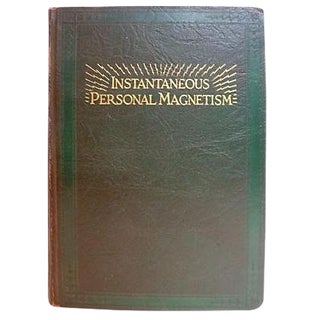 1930s 'Instantaneous Personal Magnetism' Book
