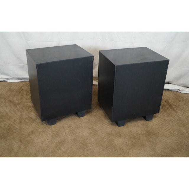Image of James Mont-Style Nightstands- A Pair