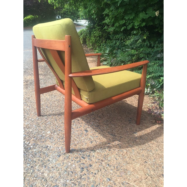 Grete Jalk Chartreuse Lounge Chair - Image 6 of 11