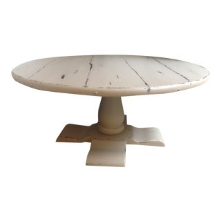 Ethan Allan Round Coffee Table