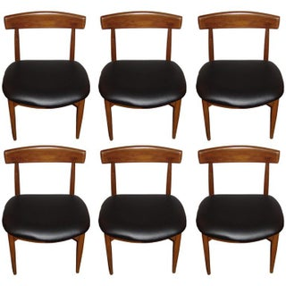 Mid-Century Danish Rosewood Dining Chairs - Set of 6