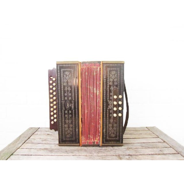 Vintage Beaver Melodeon Accordion - Image 3 of 7