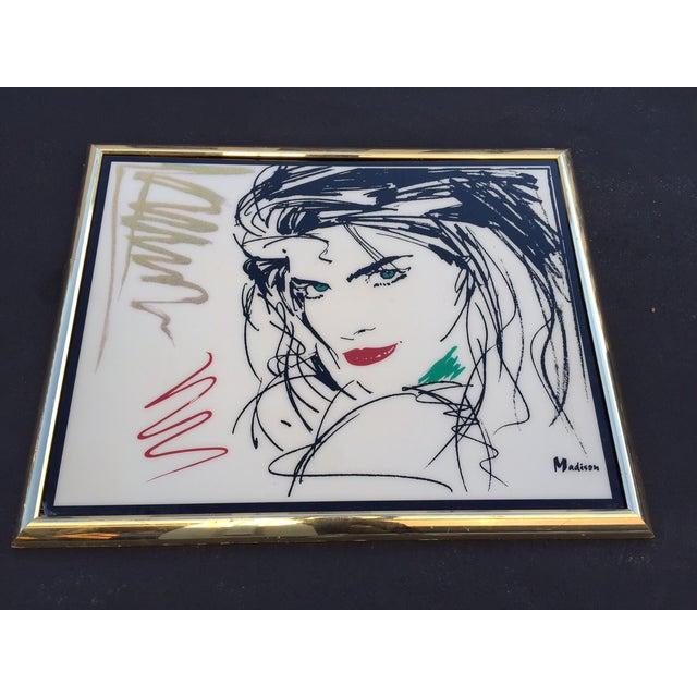 Image of Giant 80s Covergirl Contemporary Art