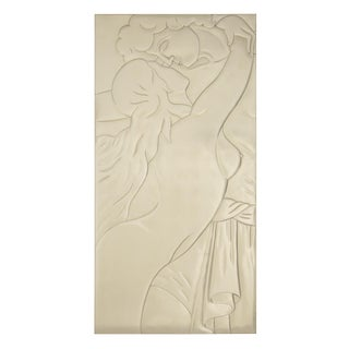 "Art Deco ""Amaroux"" Monumental Wall Relief by Christopher Guy"