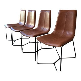 "West Elm Workspace ""Slope"" Dining Chairs - Set of 4"