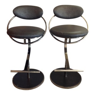 Design Institute of America Bar Stools - A Pair
