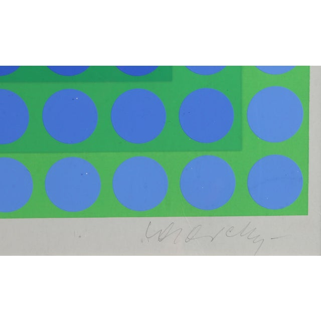 CTA - Blue by Victor Vasarely - Image 3 of 4