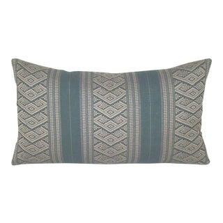Handwoven Eastern European Bolster Pillow Cover