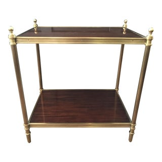 Ralph Lauren Edwardian Brass End Table