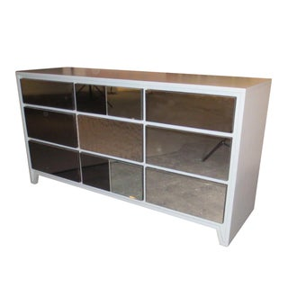 Reflective Reprise Mid Century 9 Drawer Credenza