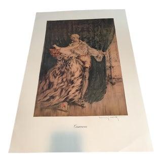 Louis Icart Casanova Print