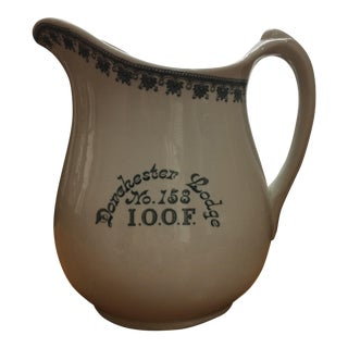 Greenwood China Dorchester Lodge Pitcher