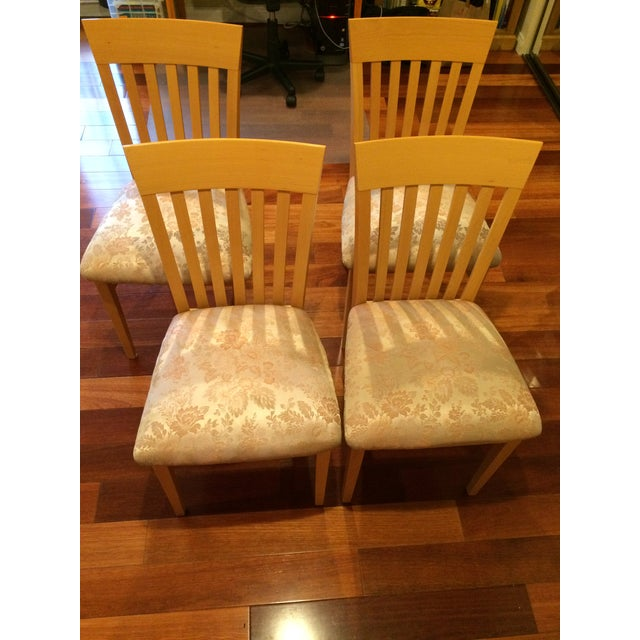 A. Sibau Italian Vintage Dining Room Chairs - Set of 4 - Image 2 of 7