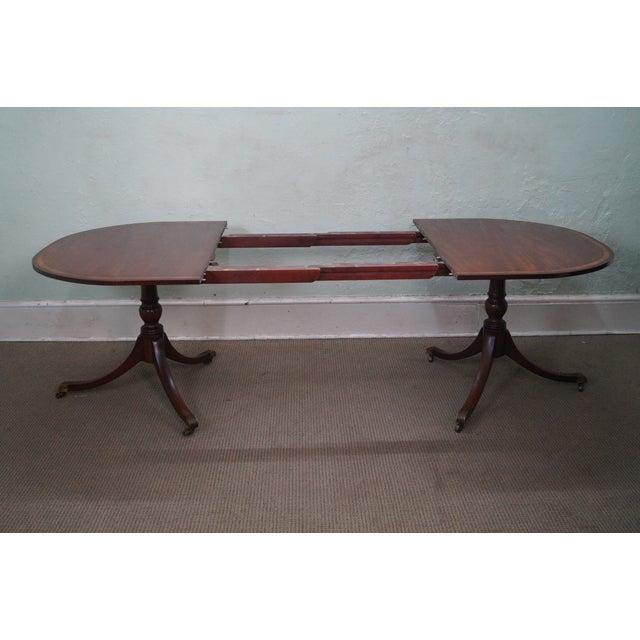 Image of Kittinger Regency Duncan Phyfe Dining Table