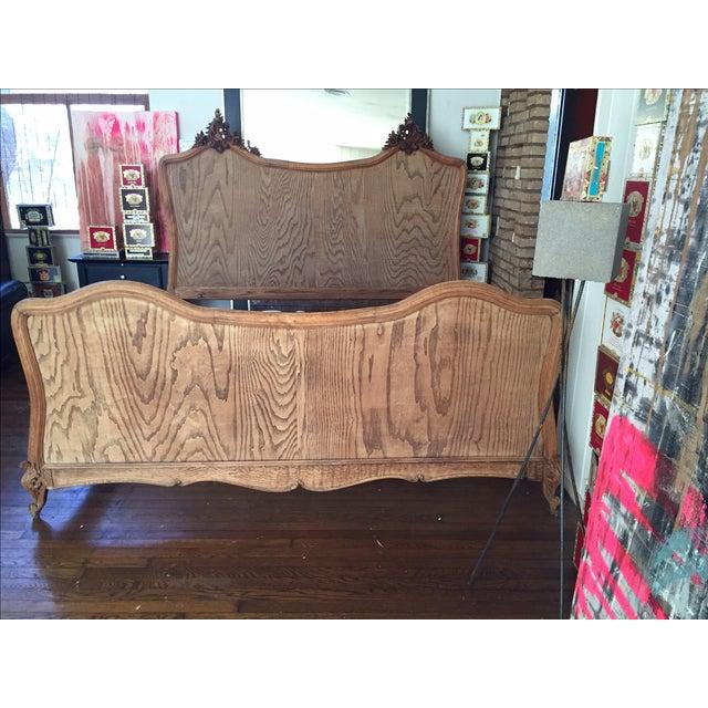 Image of Antique King Sized Bed Frame