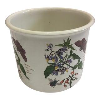The Botanic Garden English Porcelain Portmerion Pot