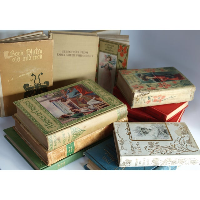 Image of Antique & Vintage Book Collection - Set of 12