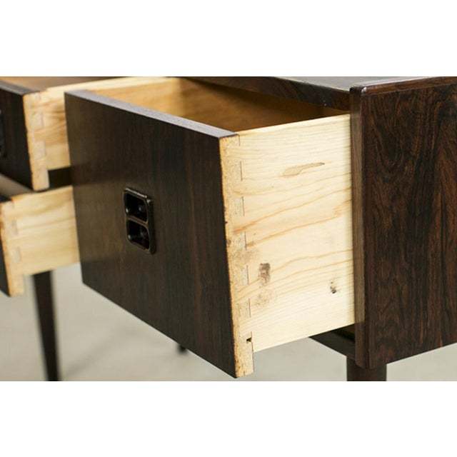 Danish Rosewood Night Stands by Kai Kristiansen - A Pair - Image 8 of 8